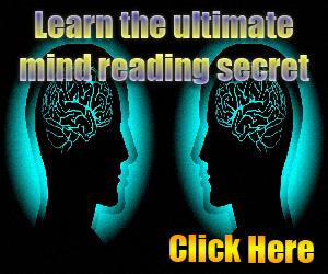 mind reading secret