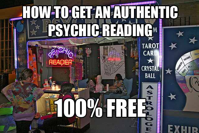free psychic reading without credit card required