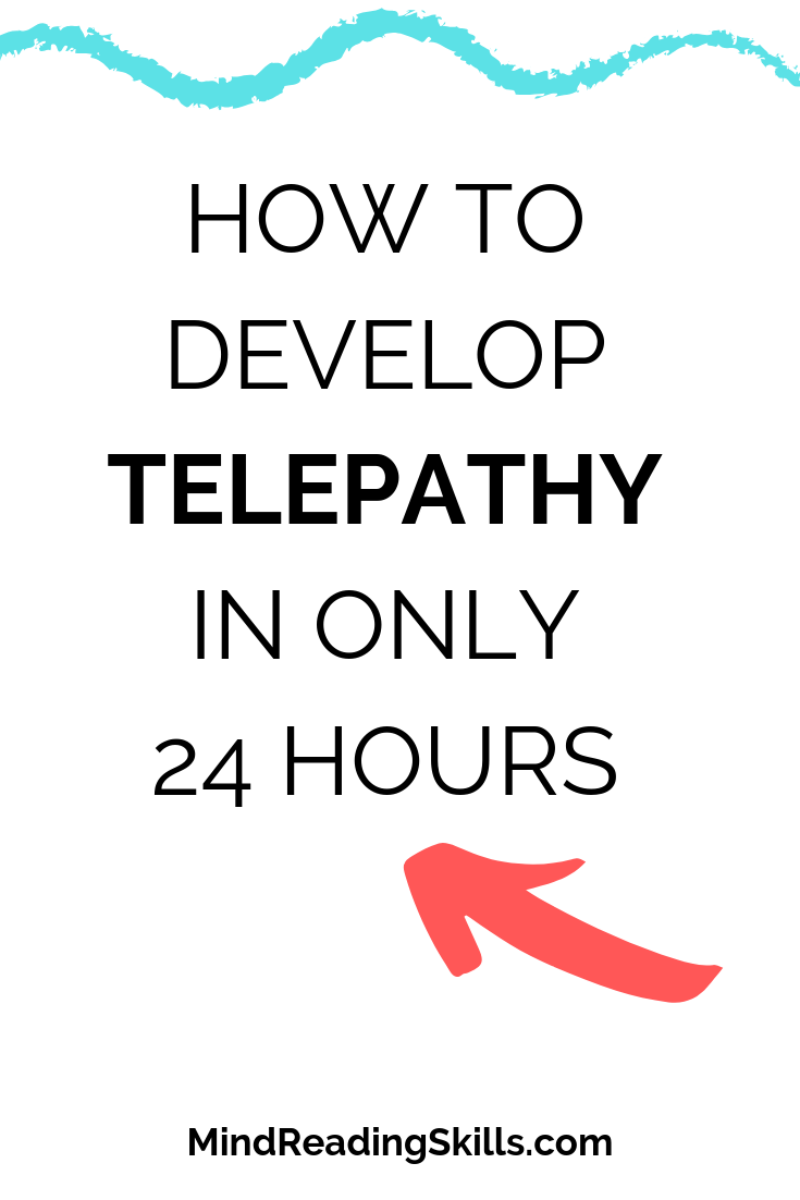 learn to develop telepathy in one day