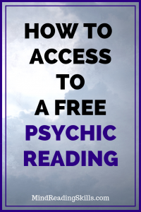 Enter for instant access to a free psychic reading chat