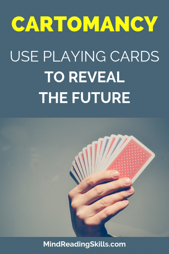 use regular playing cards to reveal the future