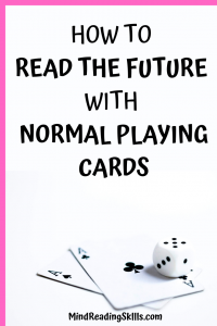 Guide read the future using regular playing cards