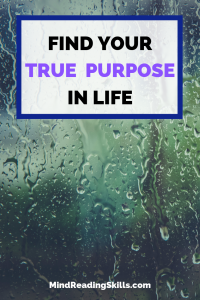 Access to find your true purpose in life